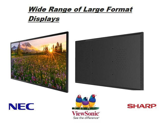 large format displays slide
